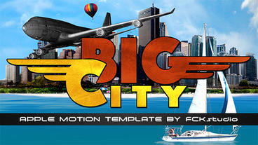 Big City part I Plantilla de Apple Motion