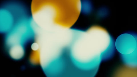colorful bokeh Animation