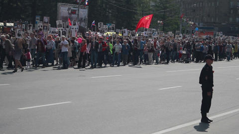 Parade Wwii. Immortal Regiment Footage
