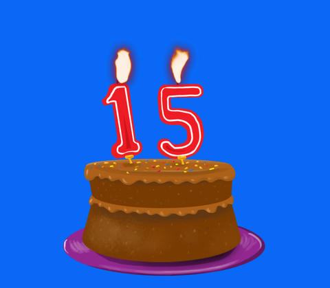 Birthday cake Animation