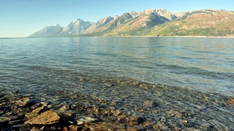 Jackson Lake in Wyoming Footage