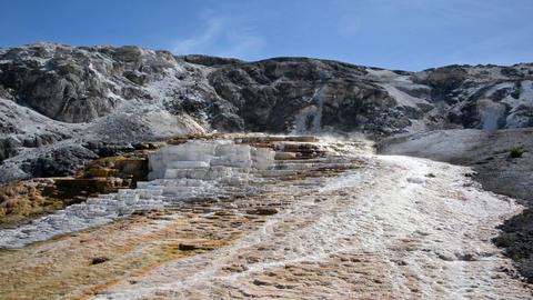 Yellowstone Bacteria Mat Footage