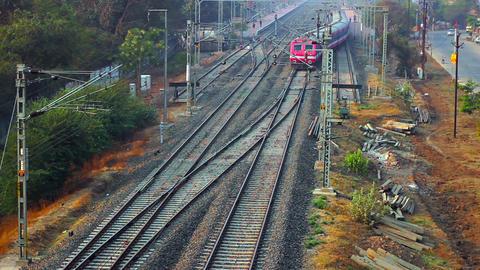 Railway station Footage