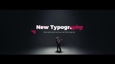 Art Typography Premiere Proテンプレート