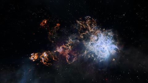 Fly Through In Tarantula Nebula Image