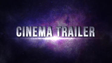 Blockbuster Trailer After Effects Template