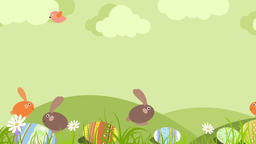 Easter Rabbit (1) CG動画素材