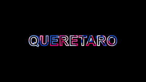 Letters are collected in International Airport QUERETARO, then scattered into Animation