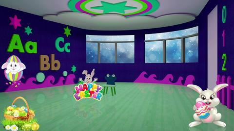Easter Set 12-Virtual Background Loop ライブ動画