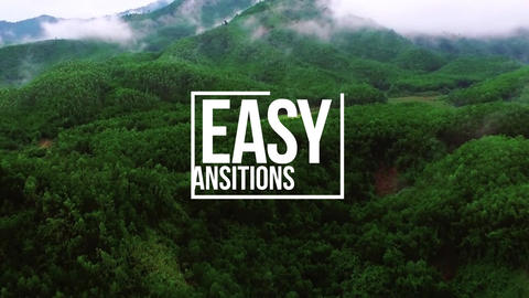 Easy Transitions Premiere Proテンプレート