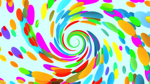 Vortex of Colors VJ Loop Abstract Motion Background V5 Animation