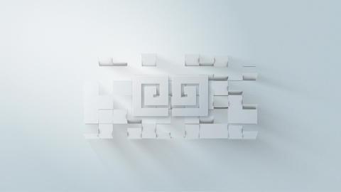 White Logo V 01 Premiere Pro Template