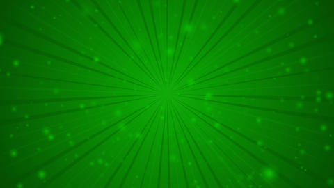 Rotating rays with burst effect and particles on festive Christmas green radial CG動画