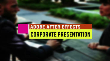 Presentation Titles Plantilla de After Effects
