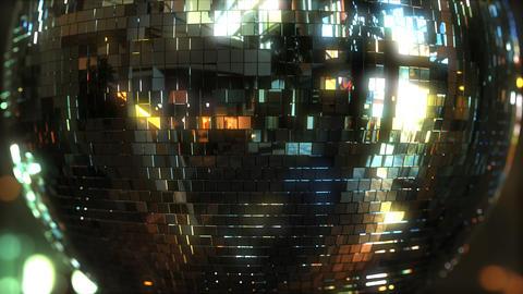 Rotating mirror disco ball Footage