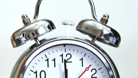Alarme bell - Looping alarm clock-Alarm Clock Footage