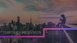 Clean Corporate Slideshow PR模板