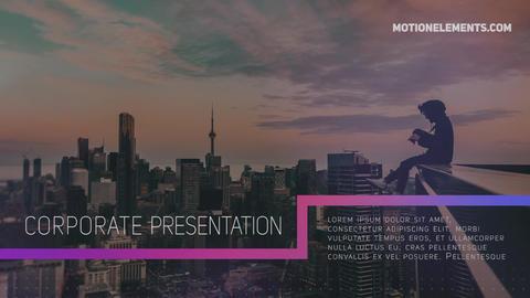 Clean Corporate Slideshow Premiere Pro Template