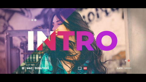Portfolio After Effects Template
