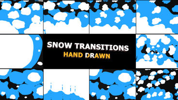 Snow Transitions Premiere Pro Template