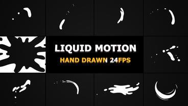 Liquid Motion Shapes Premiere Pro Template
