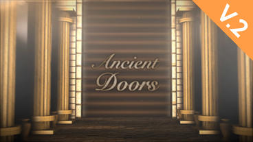 Ancient Doors Title (V.2) - After Effects Template After Effects Template