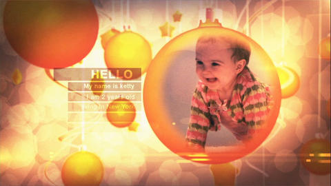 Kids Memories Photos After Effects Template