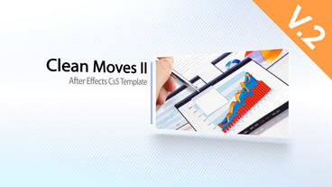 Clean Moves II (V.2) - After Effects Template After Effects Template