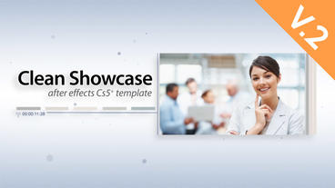 Clean Showcase (V.2) - After Effects Template After Effects Template