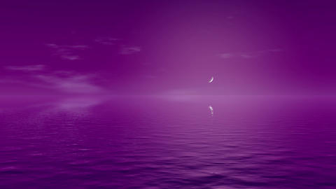 A purple abstract background of a watery purple landscape Live Action