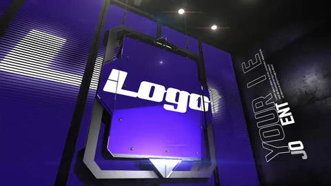 3d Logo Opener folder After Effects Template