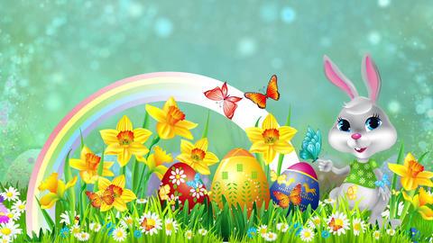 Easter Set 15-Virtual Background Loop ライブ動画