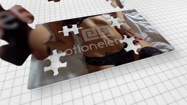 PuzzleSlideShow Plantilla de After Effects