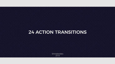 Action Transitions Premiere Proテンプレート