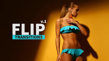 Flip Transitions v 1 Premiere Pro Template