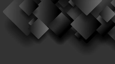 Black technology geometric abstract video animation Image