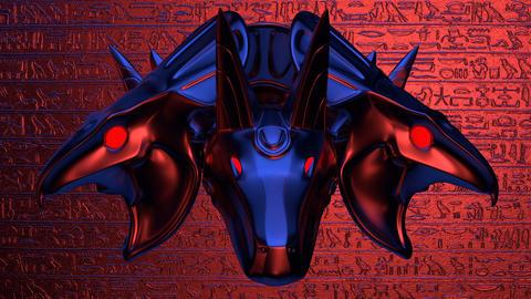 Horus Head VJ Loop Animation