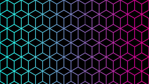 4K Trendy Colorful Background Animation