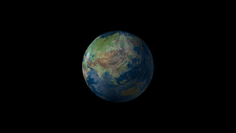 Earth 01 CG動画素材