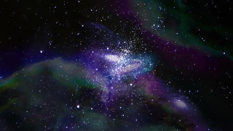 Andromeda NightSky Loop CG動画