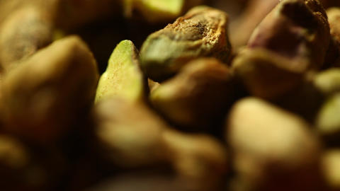 Dry fruits Roasted pistachios Footage
