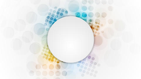 Shiny colorful grunge circles video animation Animation