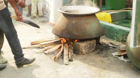 Rural Kitchen stock footage
