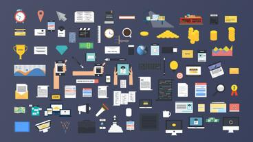 BigData - Corporate Infographics Pack Plantilla de After Effects