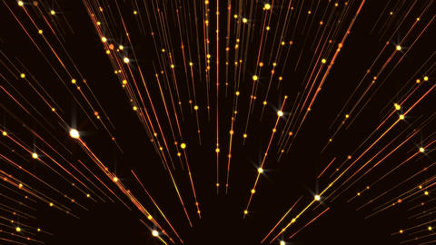Glitter Wall Gorgeous Animated Lines Flicker Background Particles Golden Animation