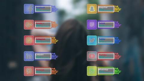 Social Technology Links After Effects Template