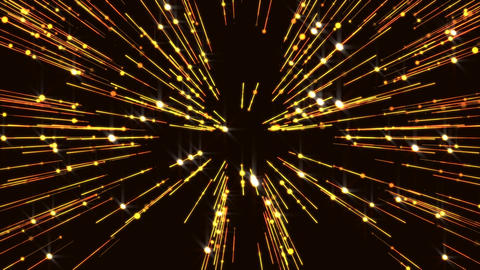 Animated Particles Golden Glitter Gorgeous Lines Flicker Wall Background Animation