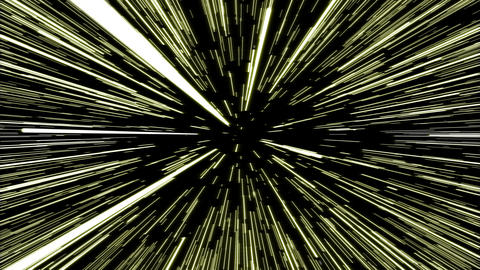 Hyperspace Warp Animation