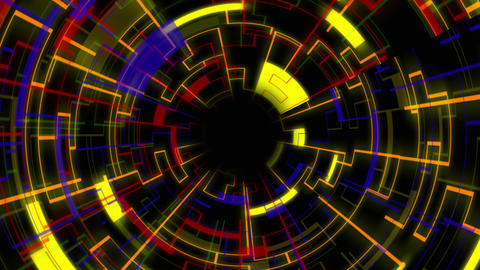 Light Looping Tunnel GIF