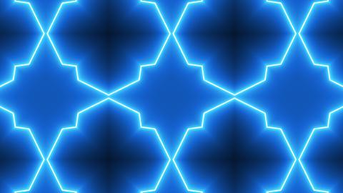 Neon Kaleidoscope Background Animation